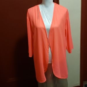 DIVIDED H & M Women Orange Cover Up Size 12